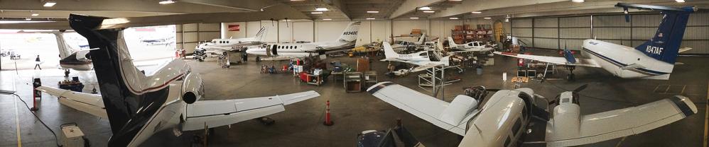 Hayward Hangar Interior